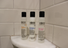 CO Bigelow Products in Hotel Shower