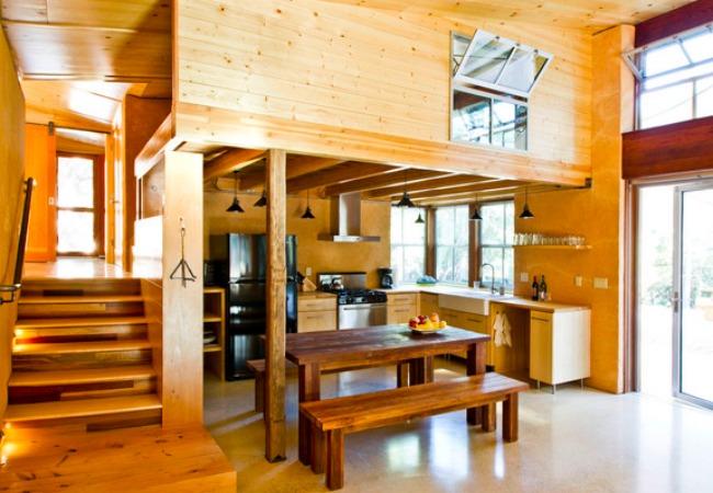 Chalk Hill Cabin Interior