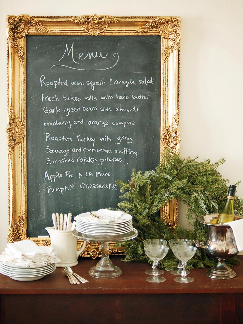 8 Unique Ways To Incorporate Chalkboard Surfaces Into Your