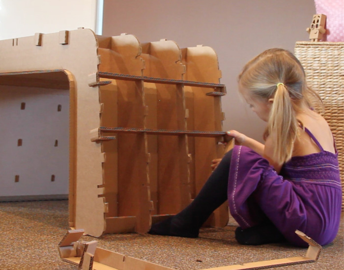 Child Assembling Imagination Desk