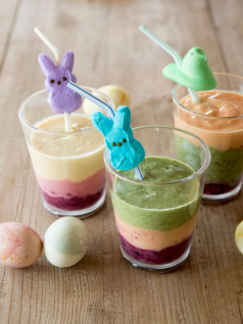 Children's Easter smoothie idea by Patricia's Table for Camille Styles