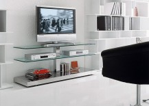 Classy and understated TV Unit is ideal for small contemporary living space