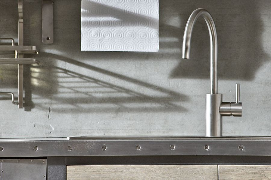 Closer look at the details of the 1956 kitchen from Marchi