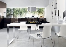 Combine your kitchen and dining space with effortless ease