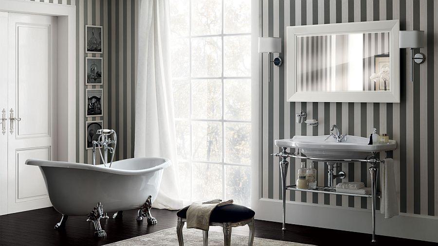 Chic Art Deco Bathroom