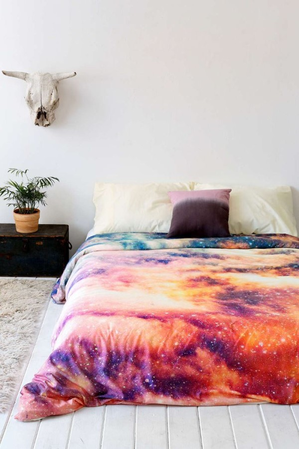Cosmic duvet cover by Shannon Clark via Urban Outfitters