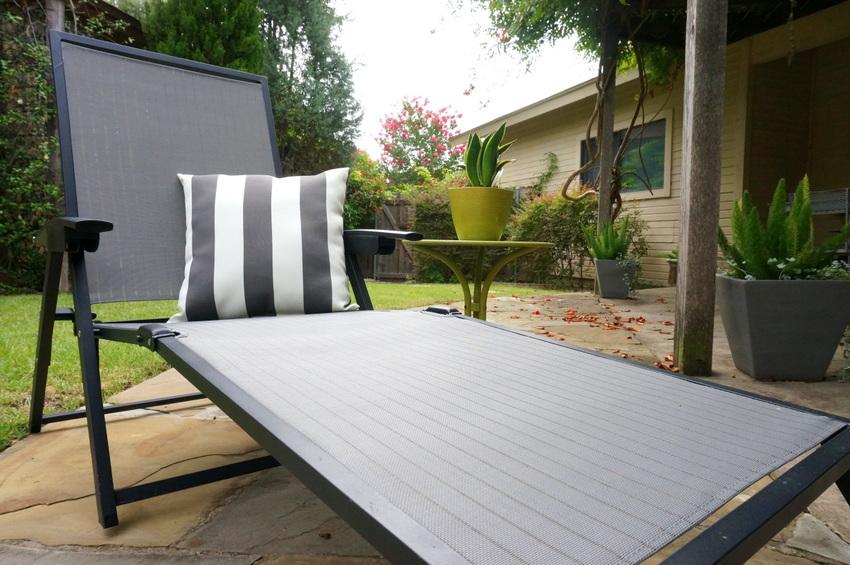 Create an outdoor lounge