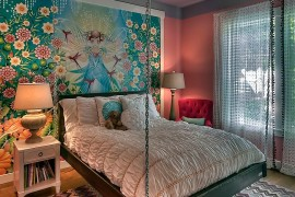 21 Creative Accent Wall Ideas For Trendy Kidsu0027 Bedrooms Part 87