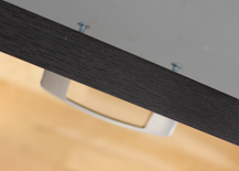DIY Drawer Pull Installation Screws with Handle