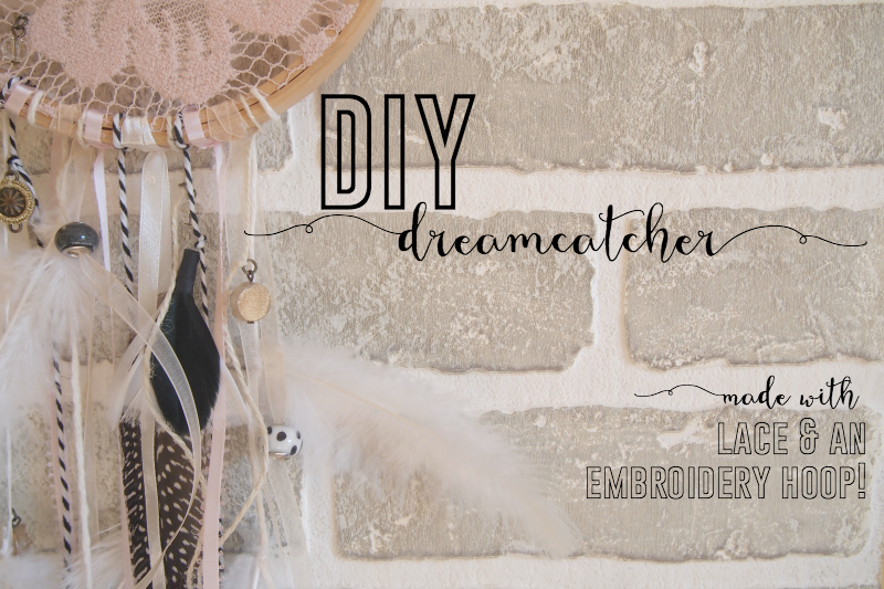 DIY: A Pretty {& Easy} Dreamcatcher