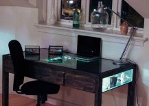 Daniel Zeller Desk Filled with Plants