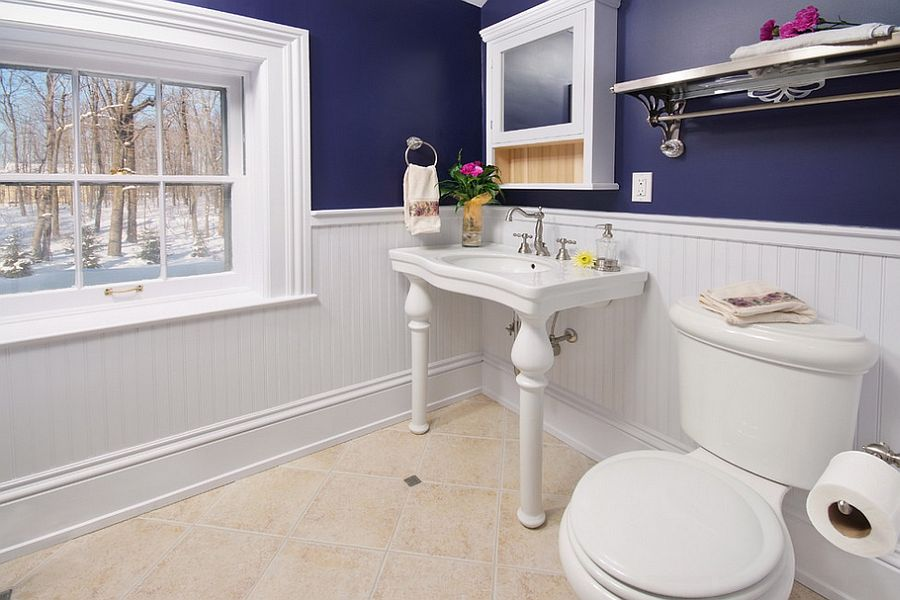 ... Elegant bathroom combines the classic with the modern [Design: Artistic Renovations of Ohio]