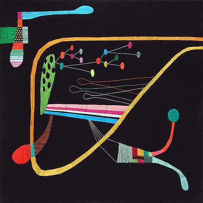 Embroidery by Takashi Iwasaki