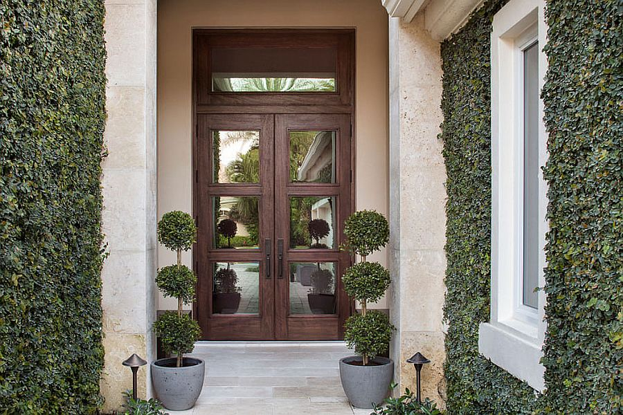 Entrance to the beautiful Equestrian Club Residence by Krista Watterwort