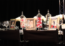 Essie Nail Polish Embellished Dinner Table