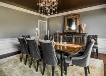 blue grey dining rooms. Gray and the dining room might seem like an unusual combination at first  but as you will see below there are plenty of ways that color can be used to 25 Elegant Exquisite Dining Room Ideas