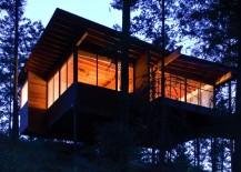 Flathead Lake Cabin Front