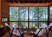 Flathead Lake Cabin Interior 217x155 High Design Off Grid Cabins: Escape from It All in Style