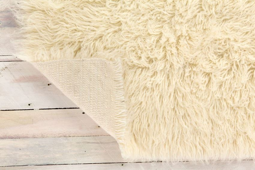 Flokati rug from Urban Outfitters