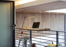Functional workspace makes wonderful use of the space on offer