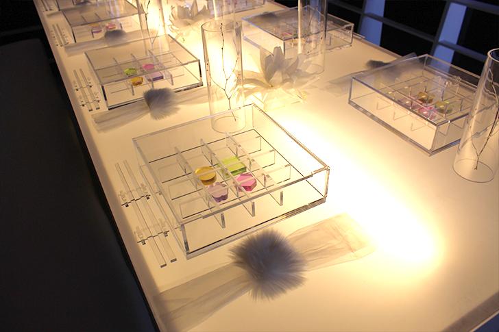 Futuristic Sushi Dining Table