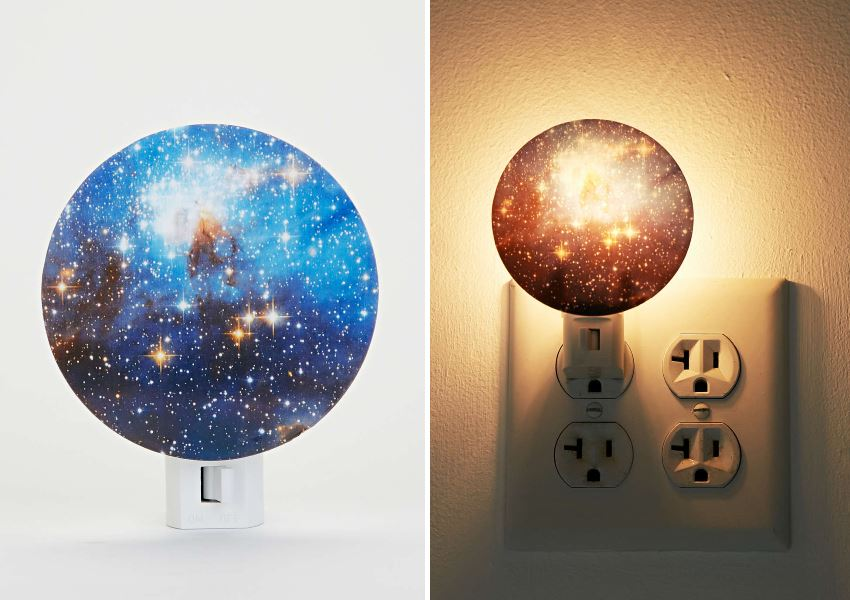 Galaxy night light from Urban Outfitters