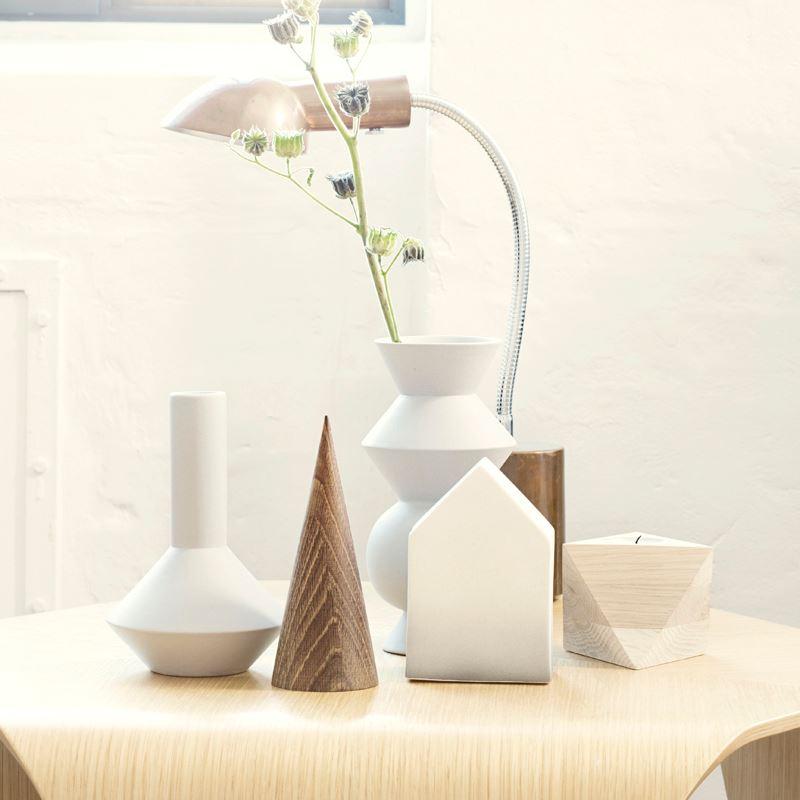 Geometric vases from ferm LIVING