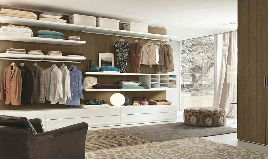 Give your bedroom an organized look with the perfect closet