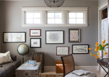 Give your home office a touch of personality with unique decor