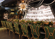 Green Theater Themed Table