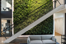Vertical Indoor Garden 8 easy ways to create a vertical garden wall inside your home 8 living walls and vertical gardens to bring a touch of spring into your home workwithnaturefo