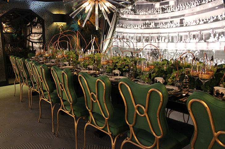 Greenery Themed Table