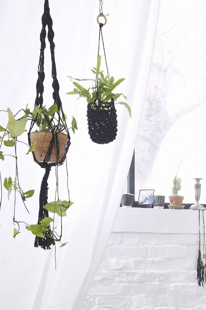 Hanging plant holders from Urban Outfitters