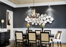 Blue Dining Room Colors 25 elegant and exquisite gray dining room ideas
