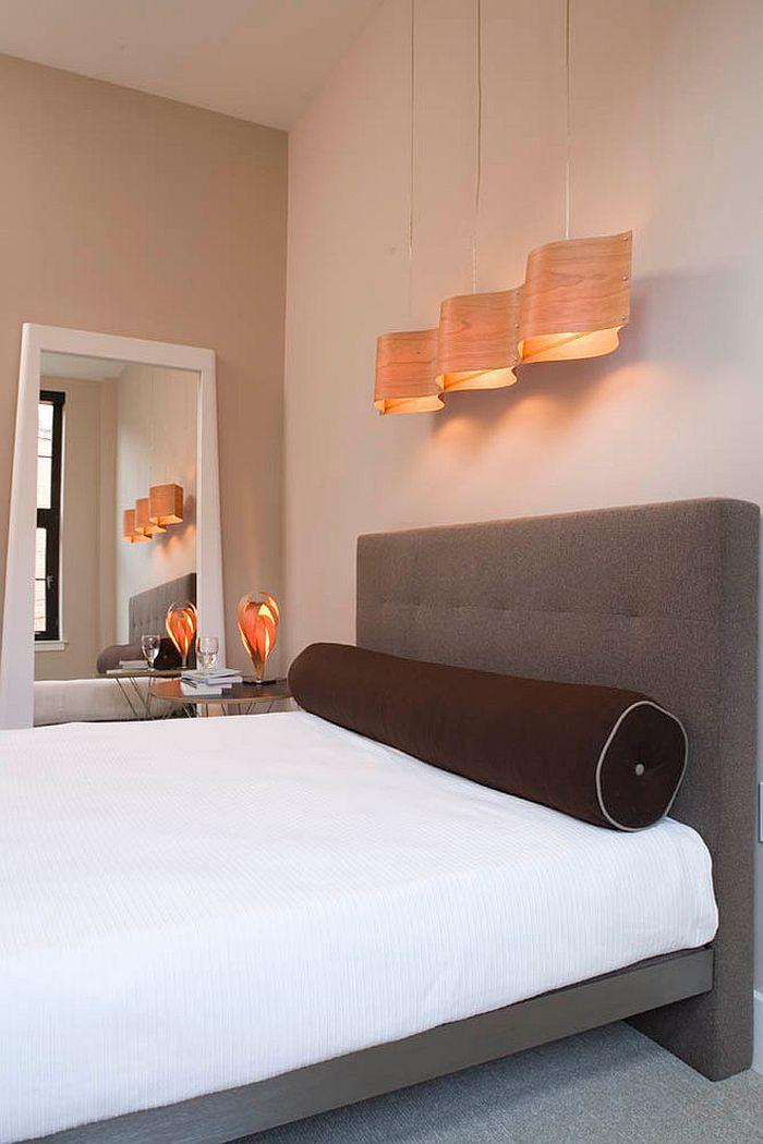 Hola Suspension lamp adds creative beauty to the minimal bedroom [Design: Vastu]
