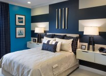 Interesting-use-of-stripes-to-create-a-truly-unique-accent-wall-217x155