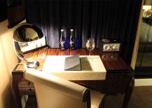 Jade Hotel Penthouse Desk Area