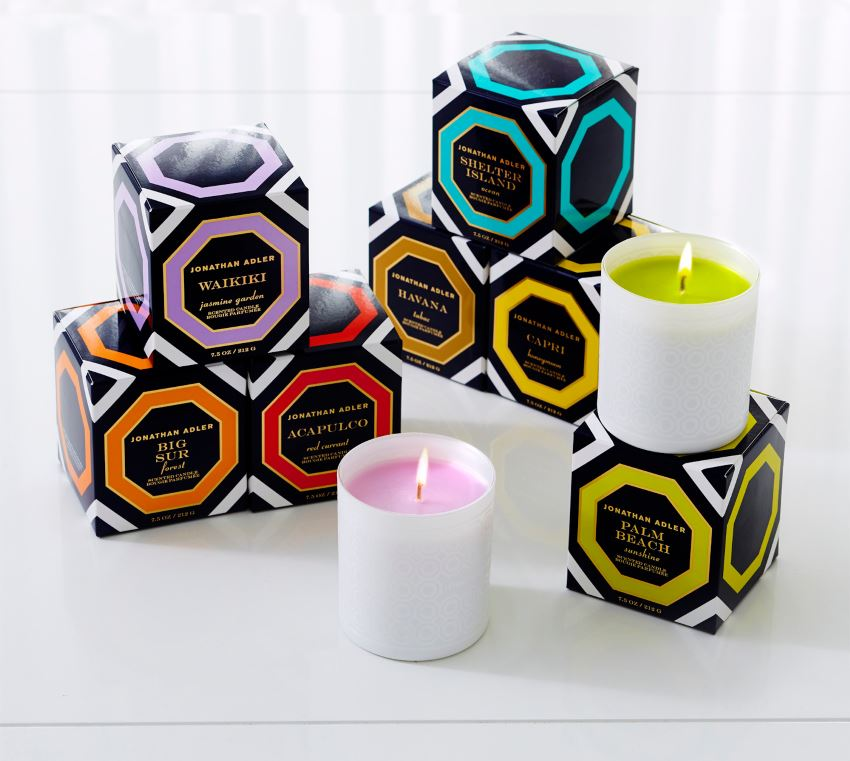 Jet Set candles from Jonathan Adler