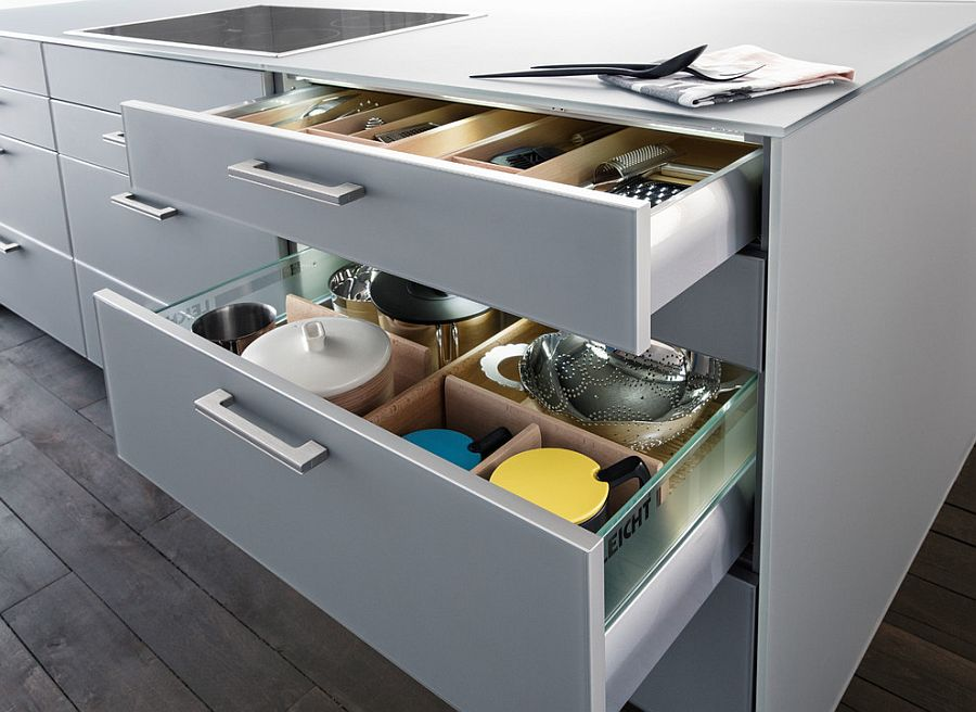 Charming Kitchen Corner Storage Ideas Part - 10: View In Gallery Kitchen Island Unit With Plenty Of Storage Space