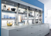 Lighting-accentuates-the-beuaty-of-gorgeous-open-kitchen-shelves-and-display-217x155