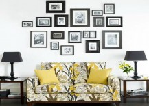 Living Room with Frames