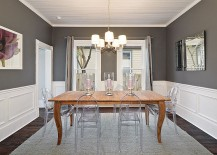 Gray And The Dining Room Might Seem Like An Unusual Combination At First,  But As You Will See Below, There Are Plenty Of Ways That The Color Can Be  Used To ...