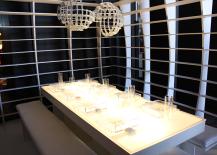 Minimalist White Modern Dining Table