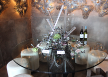 Modern Table with Succulents