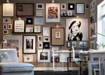Monochrome-framed-collection-of-sketches-and-art-living-modern-217x155