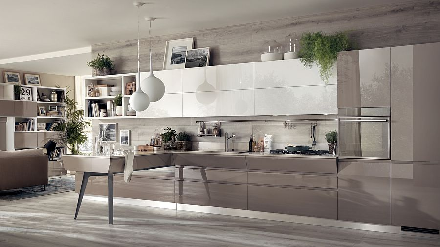 Motus kitchen seems like a natural extension of the living space