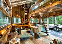 Newkirk Cabin Interior