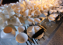 Origami Adorned Table