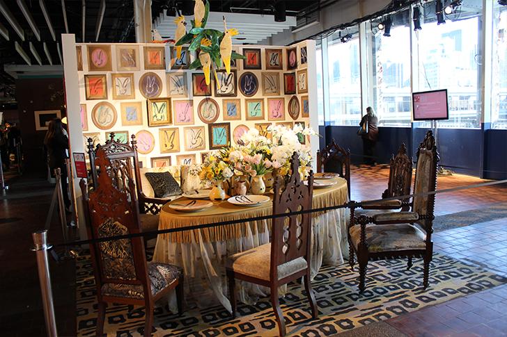 Ornate Dining Room