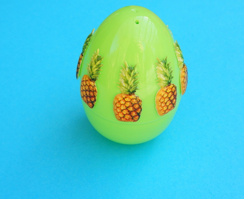 Pineapple Easter egg project